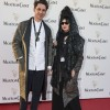 David Herman and Diane Pernet at the Mouton Cadet Wine Bar