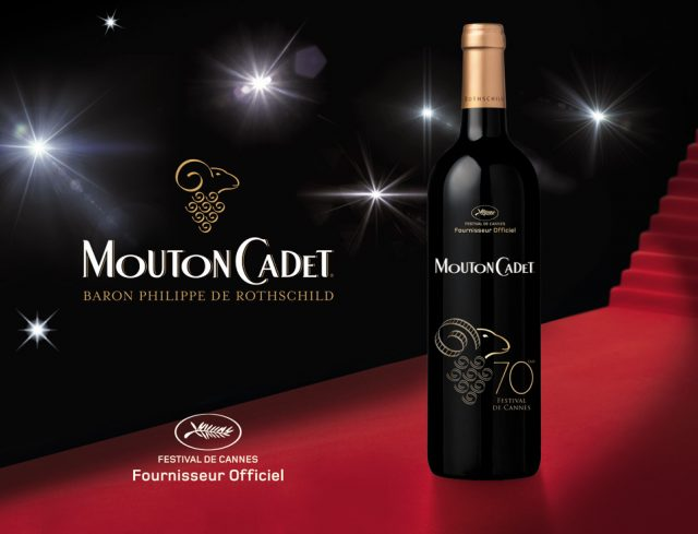 Mouton Cadet official wine Cannes Film Festivall