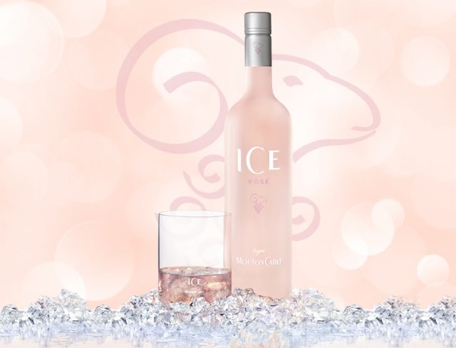 Ice Rose Signe Mouton Cadet Rose Wine
