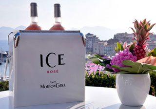 ICE Rosé signé Mouton Cadet