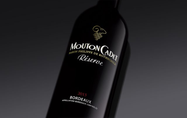 Mouton Cadet Reserve Bordeaux red wine France