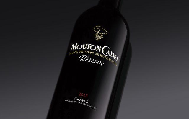 Mouton Cadet Reserve Graves rouge red wine Bordeaux France
