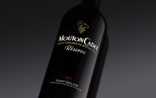 Mouton Cadet Saint Emilion red wine Bordeaux France