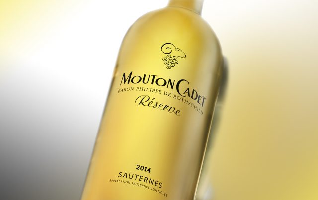 Mouton Cadet Sauternes white wine Bordeaux France