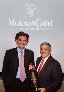 Philippe Sereys de Rothschild, Shaw ROss, Mouton Cadet United States