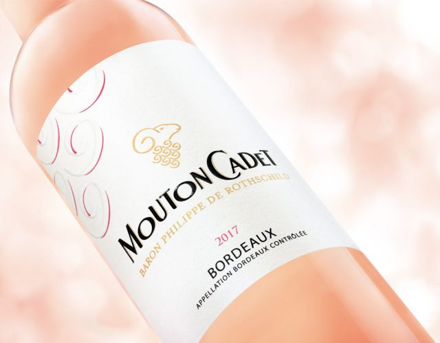 Mouton Cadet rose 2017 木桐嘉棣桃红葡萄酒2017 wine