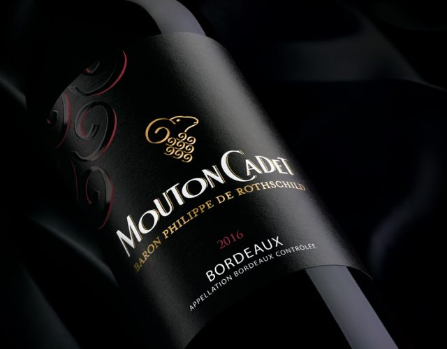 Mouton Cadet rouge 2016 red wine