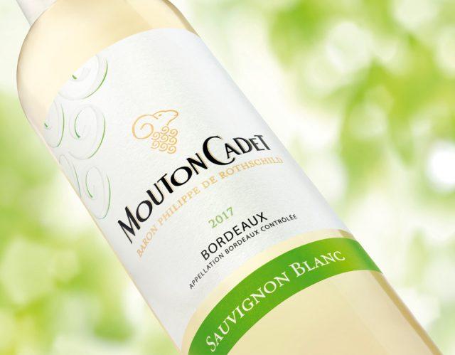 Mouton Cadet Sauvignon blanc 2017 木桐嘉棣长相思白葡萄酒2017 white wine