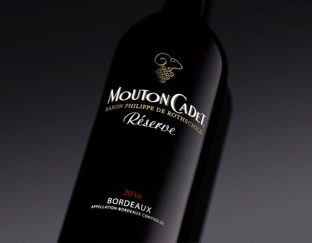 Mouton Cadet Reserve Bordeaux rouge 2016 木桐嘉棣珍藏波尔多红葡萄酒2016