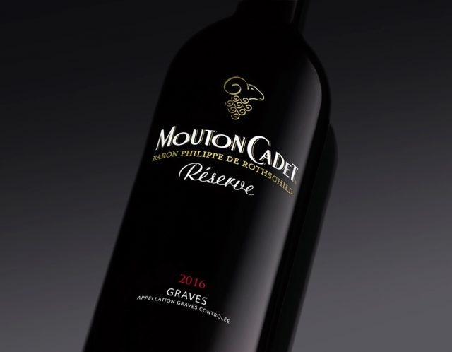 Mouton Cadet Reserve Graves rouge 2016 木桐嘉棣珍藏格拉夫红葡萄酒2016 red wine