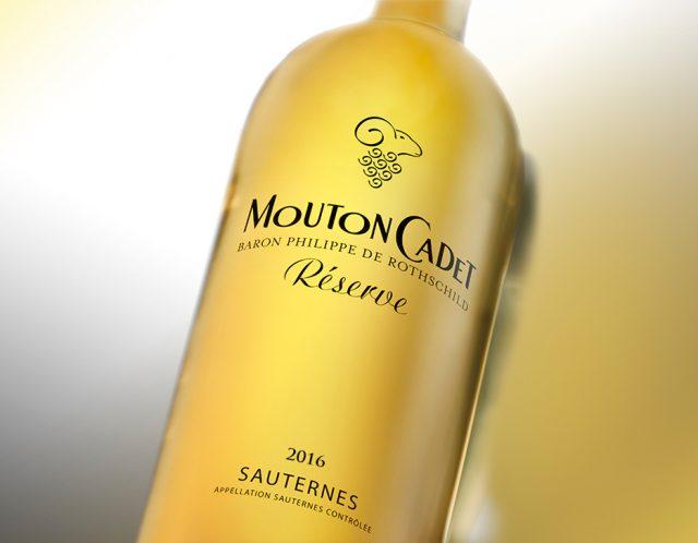 Mouton Cadet Reserve Sauternes 2016 木桐嘉棣珍藏苏玳甜白葡萄酒2016 white sweet wine